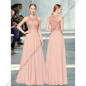 Beautiful Elegant Chiffon Evening Dress R1648